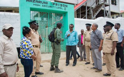 Phase one of Mazaruni Prison expansion set for October completion