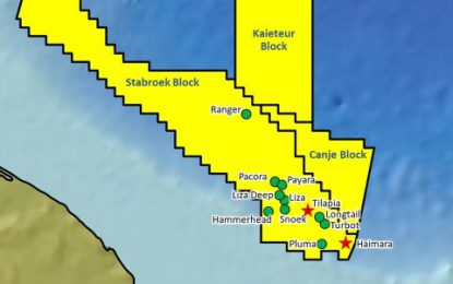 Yellowtail-1, ExxonMobil's 13th discovery offshore