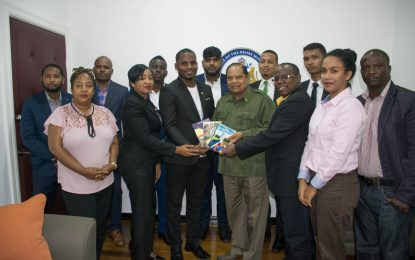 PM Nagamootoo supports new youth body