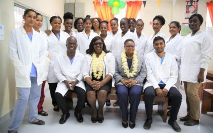 New Lab and Staff Quarters for New Amsterdam Hospital