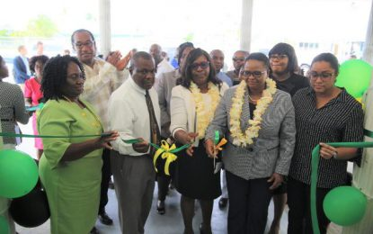 NA Hospital staff welcomes refurbished dental unit