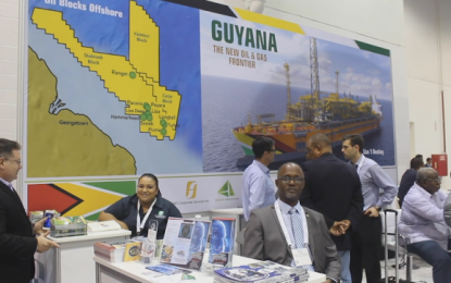 Strong interest in Guyana at Houston oil conference
