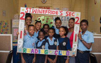 St. Winefride's teacher goes the extra mile for Reading Club