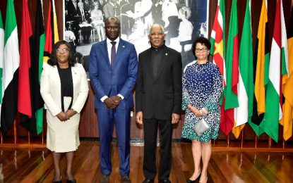 New Surinamese Ambassador to Guyana accredited