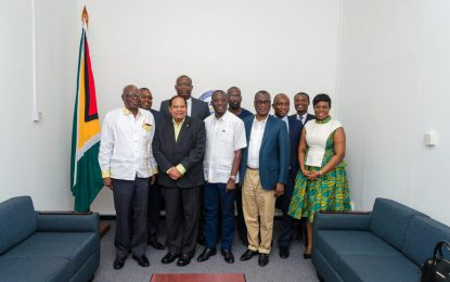 Ghanaian high-level team calls on PM Nagamootoo