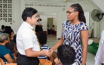 Guyana needs 'bright minds' – Min. Sarabo-Halley
