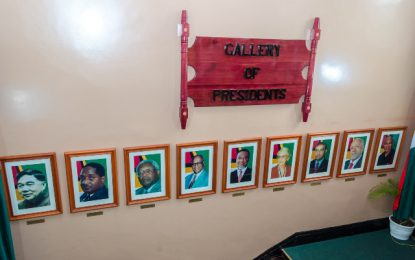 Gallery of Presidents unveiled at Public Buildings