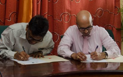 MOU signed between GCCI and M&CC