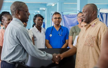 Pastor praises services rendered at Georgetown Public Hospital