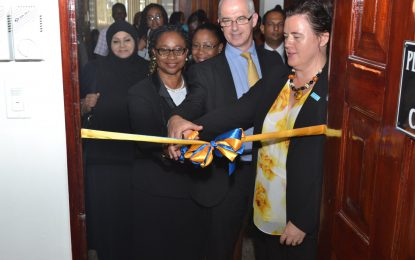 Sexual Offences Court launched in Berbice