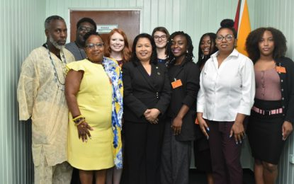 Minister of State receives courtesy call from United States student group