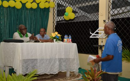 'We will not leave you like we found you' – Min. Felix tells Essequibo gateway community