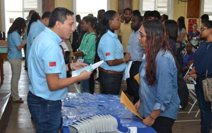 Schlumberger Guyana expanding horizons for youth