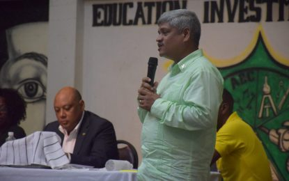 Stand firm with your Government – Minister Trotman