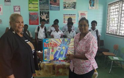 Guyanese-American Politician donates supplies for youths