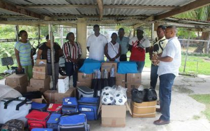 'G' Division youth groups receive donation