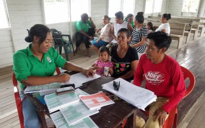 GRO takes services to several Essequibo river communities