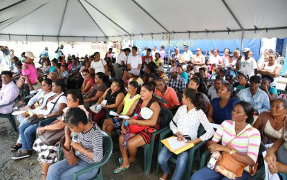 Essequibians welcome govt outreach
