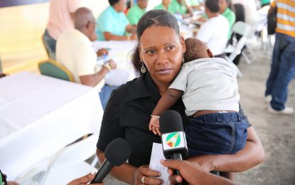 """""""No more paying of rent!"""" – Mother of three receives house lot"""