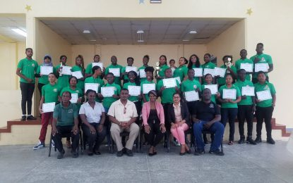 Inaugural renewable energy course was a success – asst. Dir. of Youth