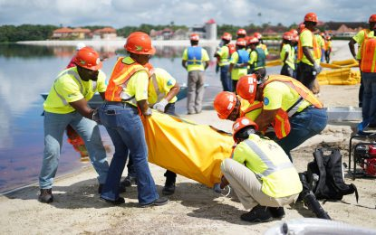 Oil Spill Response Training wraps up