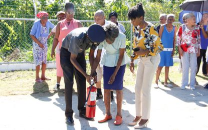 Social Protection Ministry begins fire safety training with senior citizen homes