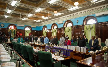 Govt debates funding for GECOM today