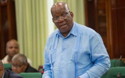 Minister Jordan working diligently to clear Guyana's intl debt backlog