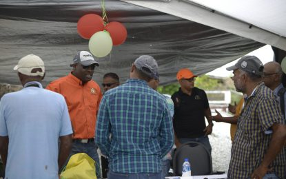 Leguan Rice farmer welcomes stelling works; says it will enhance business