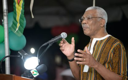 Pres. Granger urges Mocha Arcadia residents to invest in their lands