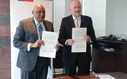 MOU Signed between Government of Guyana and National Service of Geology and Mining Government of the Republic of Chile