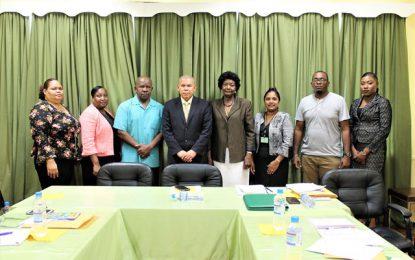 Min. Norton convenes inaugural meeting with National Trust Board