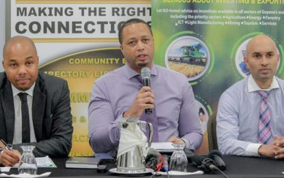 Guyanese delegation participates in OTC trade show