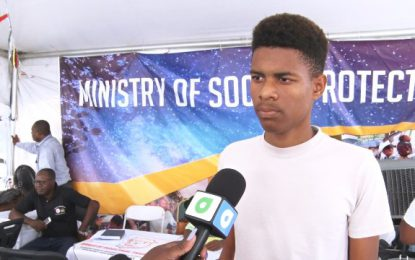 """Govt looking out for us"" – youth taps into opportunities offered at govt outreach"