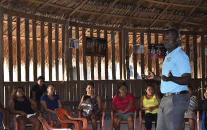 Pakuri residents benefit from parenting training
