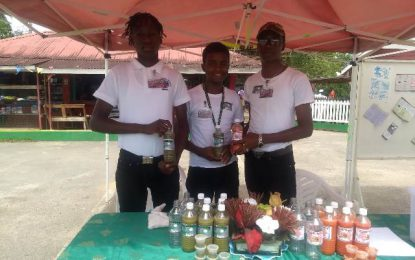 Wisroc Policing Youth Group reaping success from agro-processing venture