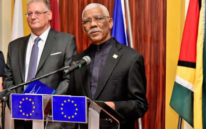 President David Granger's address on the occasion of Europe Day 2019