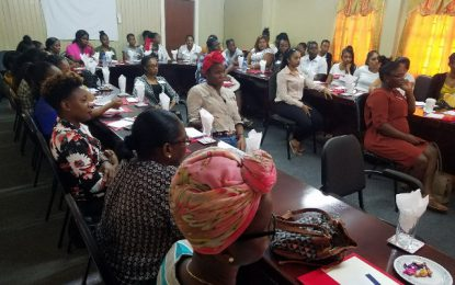 50 Women get two-day leadership training in Reg. 3