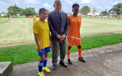 New Amsterdam females defeat Siparuta in Youth Week football rivalry