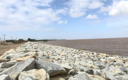 $160M contract signed to bolster Mahaicony sea defences