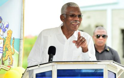 Pres. Granger vows to tackle homelessness
