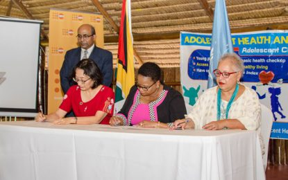$117M project to reduce adolescent pregnancies in Guyana