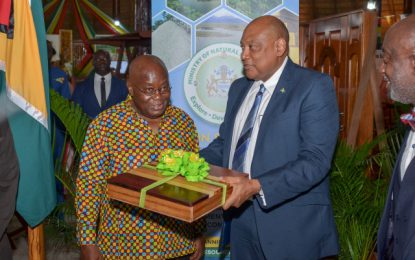 Govt interested in trading rice, forest products and rum with Ghana