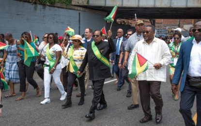 Guyana is on the right track – PM Nagamootoo tells NY Diaspora