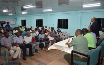 Bartica residents assured needs will be met