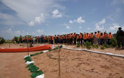 ExxonMobil hosts another oil spill demonstration