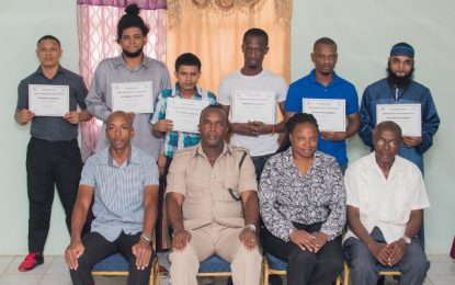 8 Prisoners graduate from anger management course