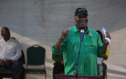 """Stand up for your govt"" – DG Harmon to Guyana's youth"