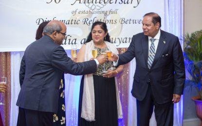 Celebrating 50yrs: Guyana-India reaffirm strong bilateral ties