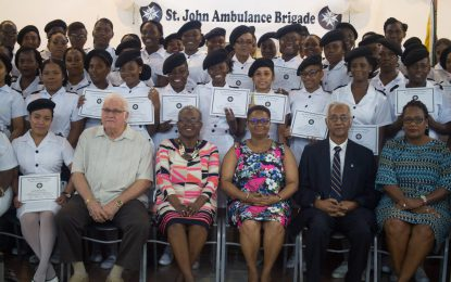 234 persons get First Aid and Home Care training